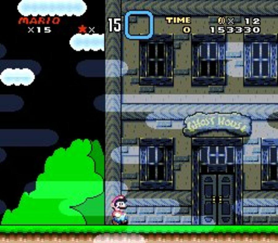 Super Mario World Screenshot