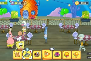 SpongeBob: Krusty Cook-Off Screenshot