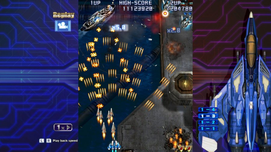 Raiden IV x Mikado Remix Review - Screenshot 5 of 5