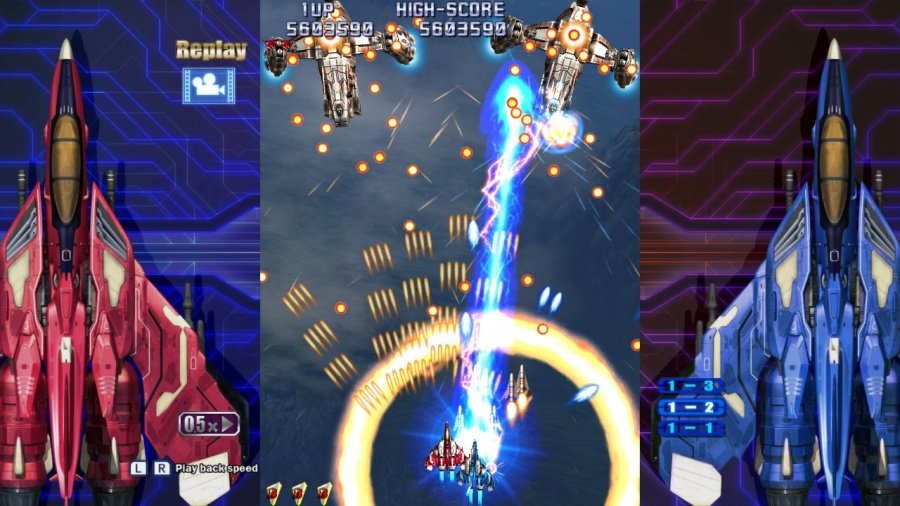 Raiden IV x Mikado Remix Review - Screenshot 3 of 5