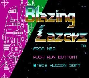 Blazing Lazers Review - Screenshot 1 of 2