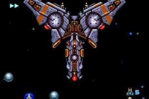 Blazing Lazers Screenshot