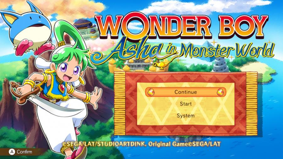 Wonder Boy: Asha In Monster World Review - Screenshot 1 of 5
