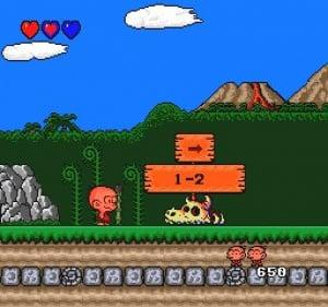 Bonk's Adventure Review - Screenshot 3 of 3