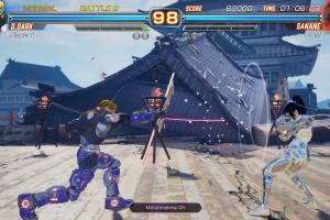Fighting EX Layer: Another Dash Screenshot