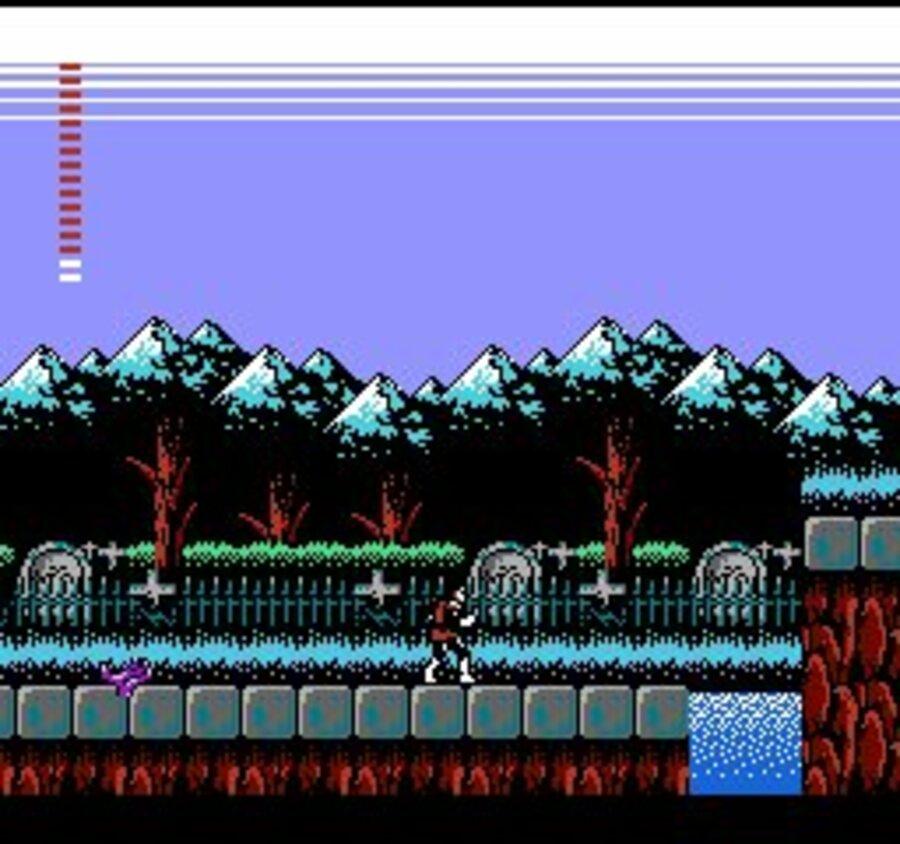 Castlevania II: Simon's Quest Screenshot