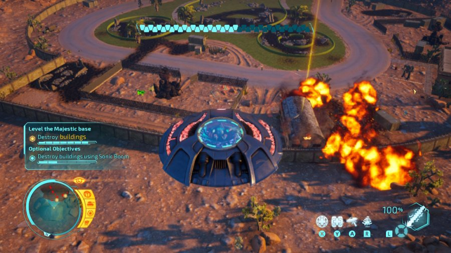 Destroy All Humans! Review - Screenshot 1 of 4