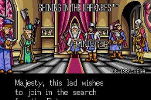 Shining in the Darkness Screenshot