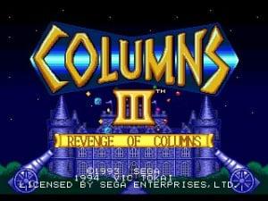 Columns III: Revenge of Columns Review - Screenshot 2 of 3
