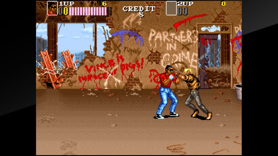 Arcade Archives VENDETTA Review - Screenshot 1 of 6