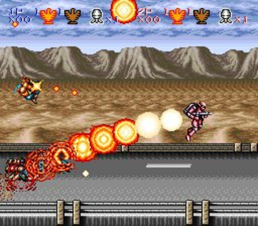 Contra III: The Alien Wars Screenshot