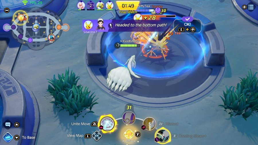 Обзор Pokémon Unite - скриншот 3 из 5