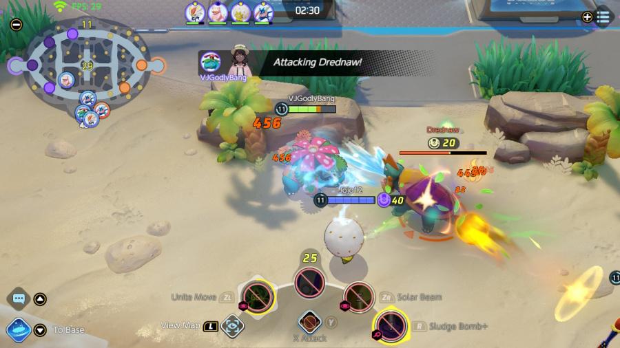 مراجعة Pokémon Unite - لقطة شاشة 4 من 5