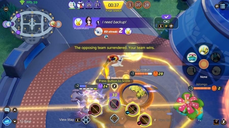 Обзор Pokémon Unite - скриншот 5 из 5