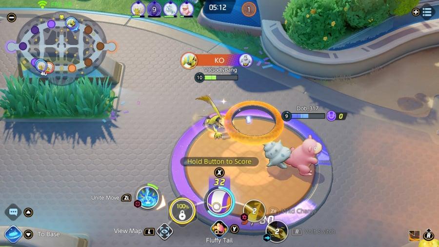 Critique de Pokémon Unite - capture d'écran 3 sur 5