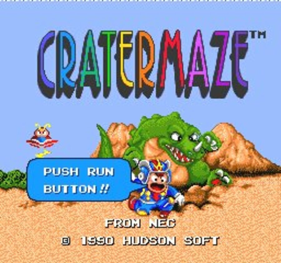 Cratermaze Screenshot
