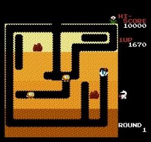 Dig Dug Review - Screenshot 1 of 3