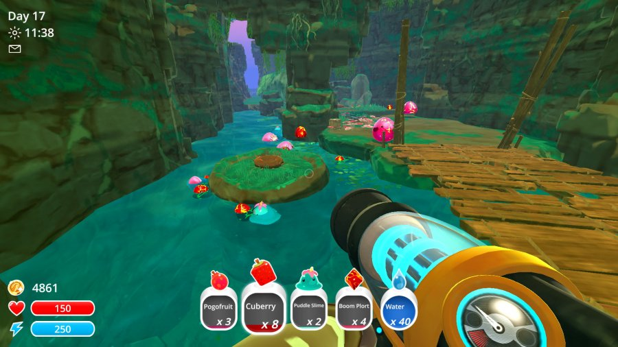 Slime Rancher: Plortable Edition Review - Screenshot 1 of 4