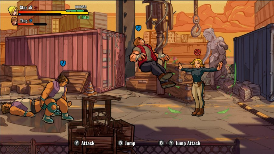 Mayhem Brawler Review - Screenshot 1 of 10