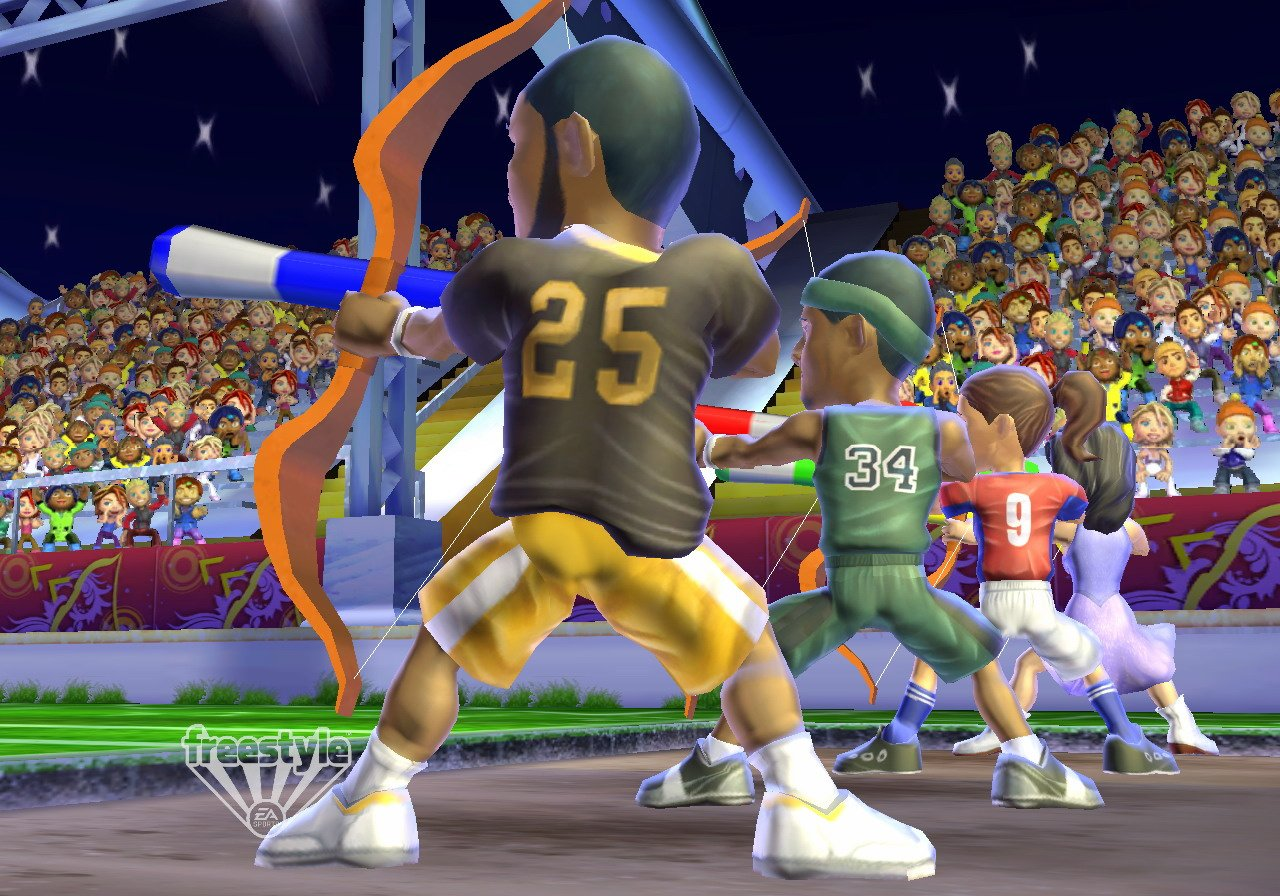 Celebrity Sports Showdown Screenshot