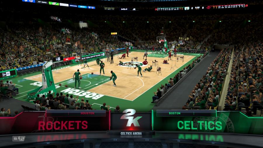 Ulasan NBA 2K22 - Tangkapan layar 5 dari 5