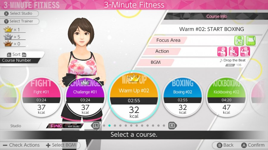 Knockout Home Fitness Review - Screenshot 1 of 5