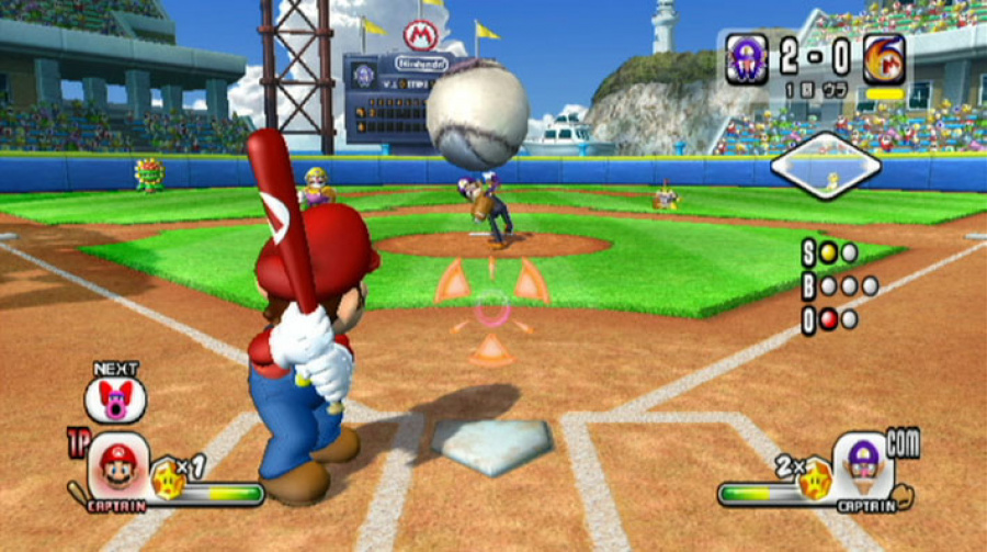 Mario Super Sluggers Review - Screenshot 1 of 5