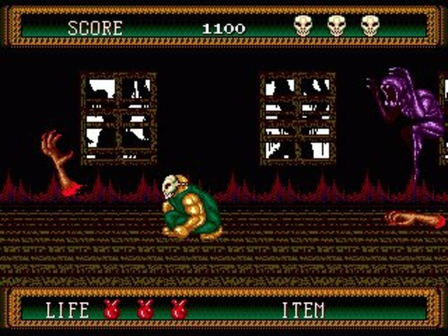 Splatterhouse 2 Screenshot