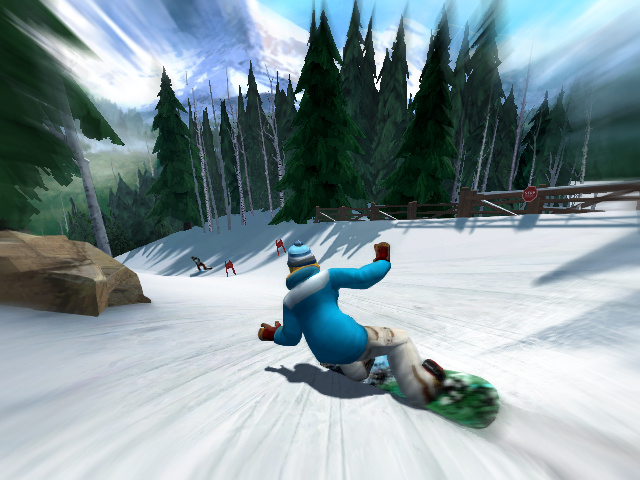 Shaun White Snowboarding: Road Trip Screenshot