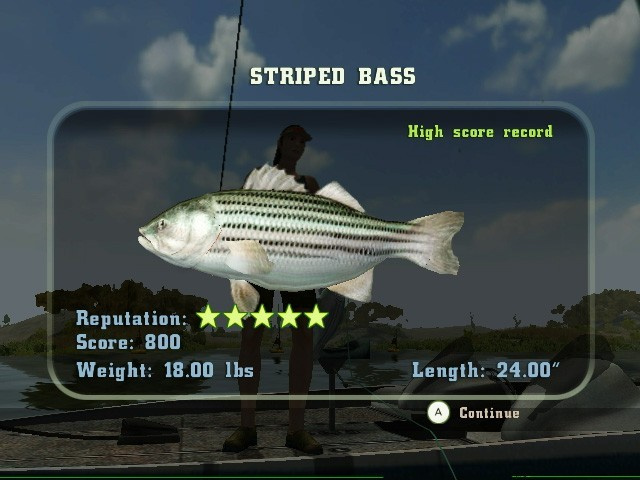 Rapala's Fishing Frenzy Screenshot