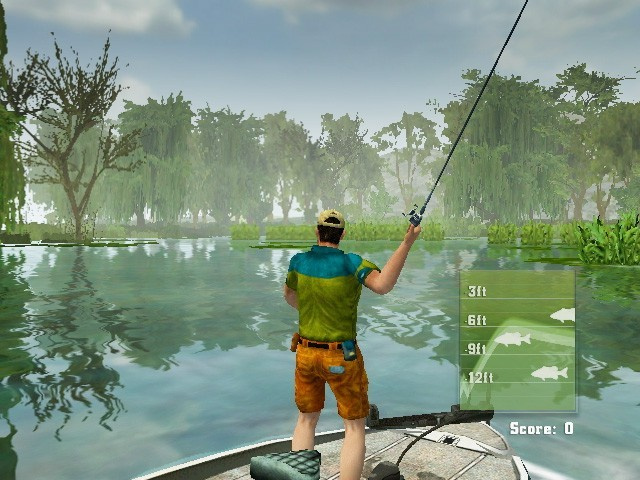 Rapala 39 s fishing frenzy wii news reviews trailer for Ps3 fishing games