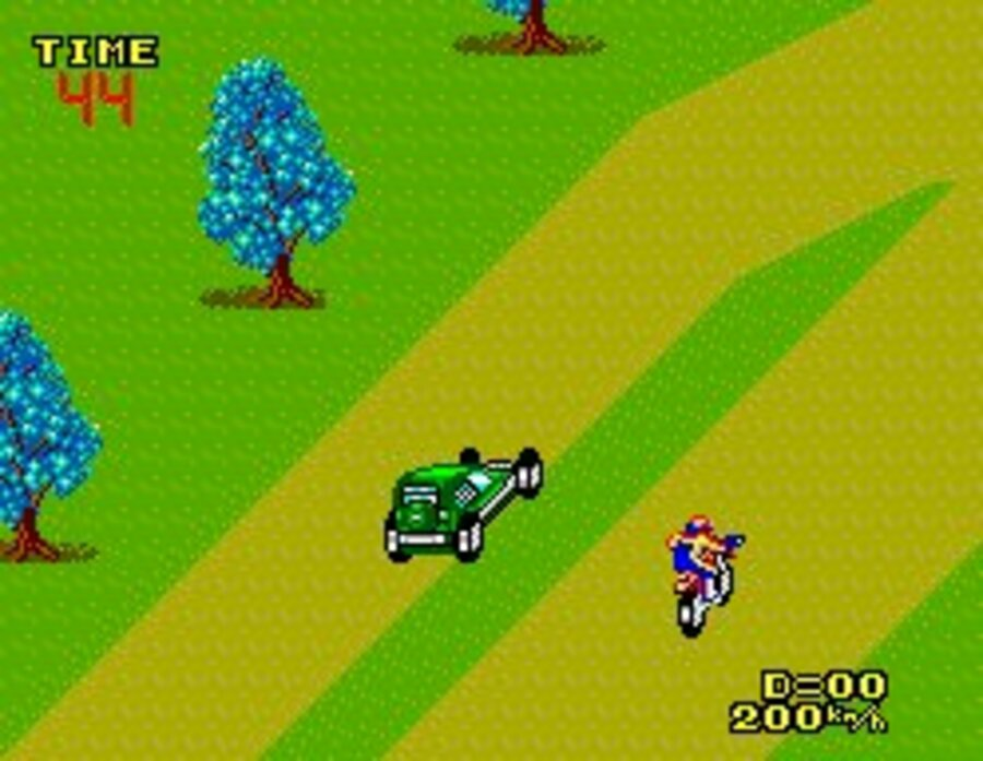 Enduro Racer Screenshot