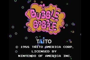 Bubble Bobble Screenshot