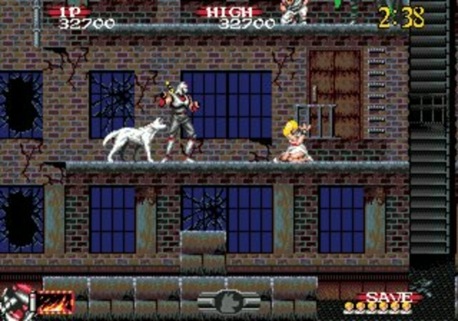 Shadow Dancer: The Secret of Shinobi Screenshot