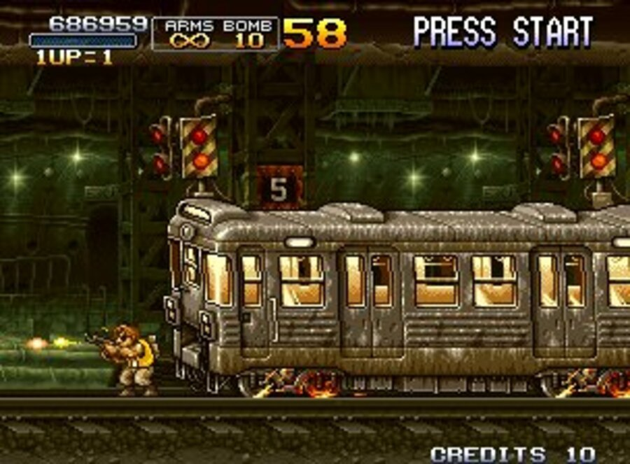 Metal Slug 2 Screenshot