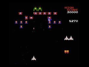 Galaga Review - Screenshot 1 of 7
