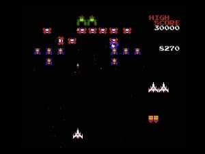Galaga Review - Screenshot 1 of 5