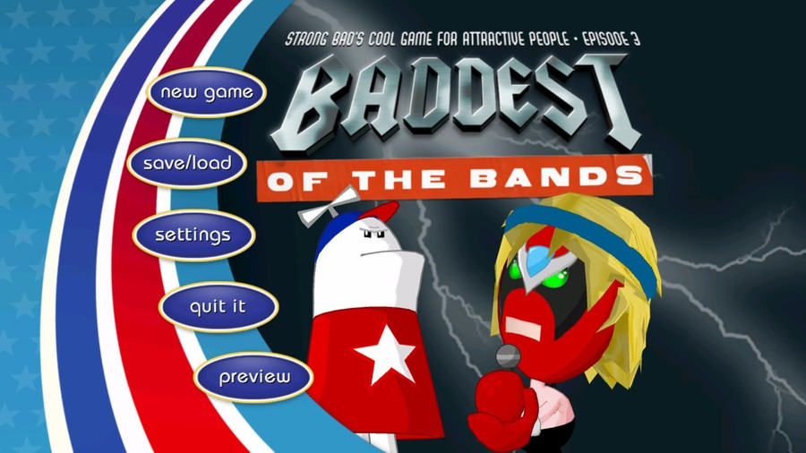 Strong Bad Episode 3 - Baddest of the Bands Screenshot