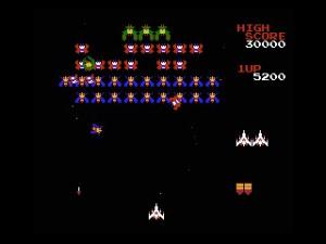 Galaga Review - Screenshot 2 of 5