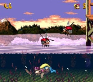 Donkey Kong Country 3: Dixie Kong's Double Trouble! Review - Screenshot 2 of 4