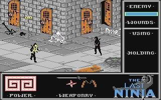 The Last Ninja (C64 / Commodore 64) Screenshots
