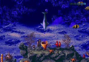 Ecco: The Tides of Time Review - Screenshot 1 of 2