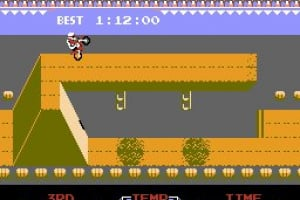 Excitebike Screenshot
