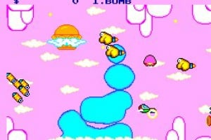 Fantasy Zone Screenshot