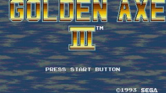 Golden Axe III Screenshot