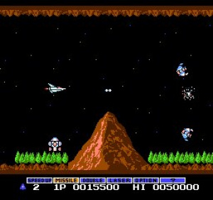 Gradius Review - Screenshot 1 of 2