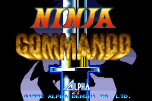 Ninja Commando Screenshot