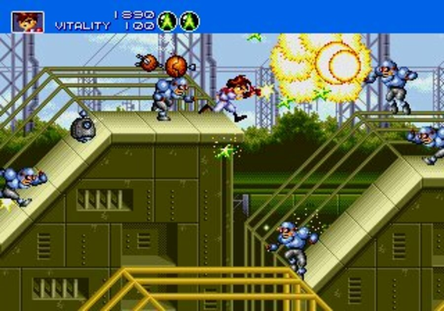 Gunstar Heroes Screenshot