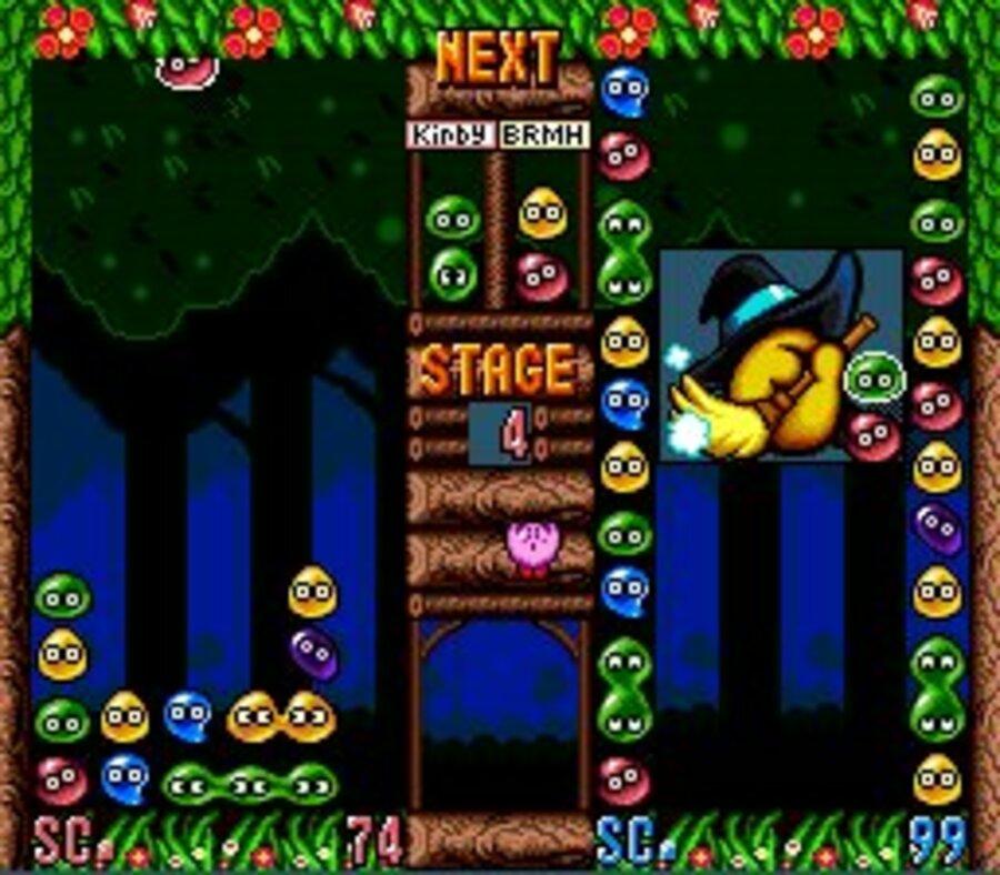 Kirby's Avalanche Screenshot