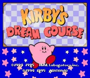 Kirby's Dream Course Review - Screenshot 1 of 2
